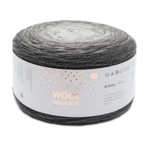 Rico Design Creative Wool Dégradé Super6 200g 800m