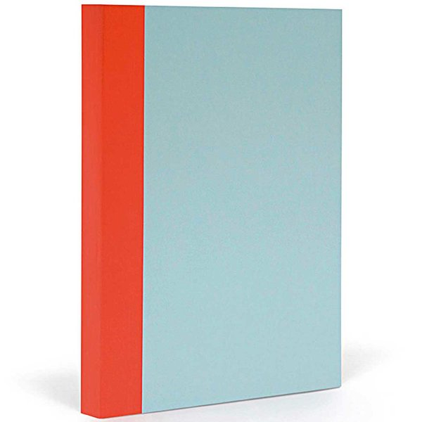 Fantasticpaper Notizbuch Xl Liniert Skyblue Warmred