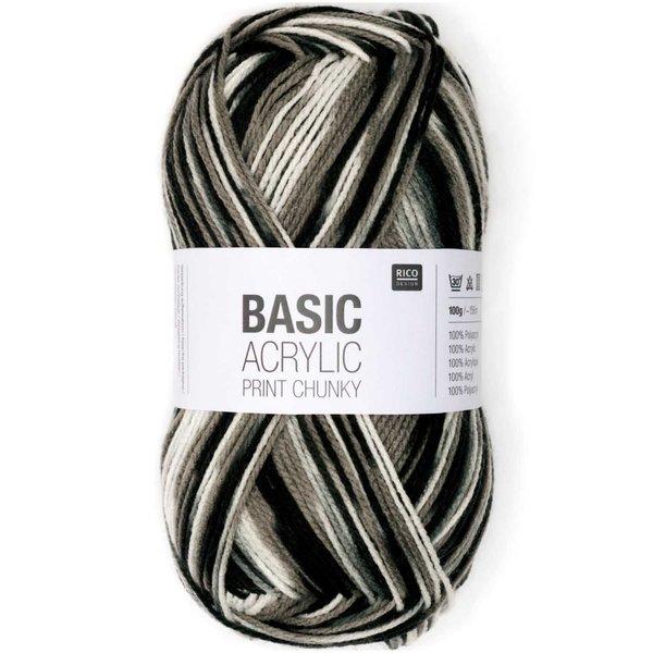 Rico Design Basic Acrylic Print chunky 100g 156m