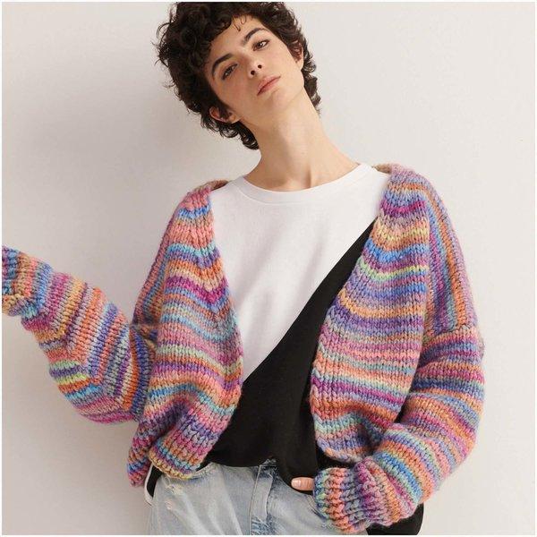 Strickset Jacke Modell 4 aus Made by Me Stripes