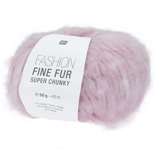 Rico Design Fashion Fine Fur Super Chunky 50g 45m