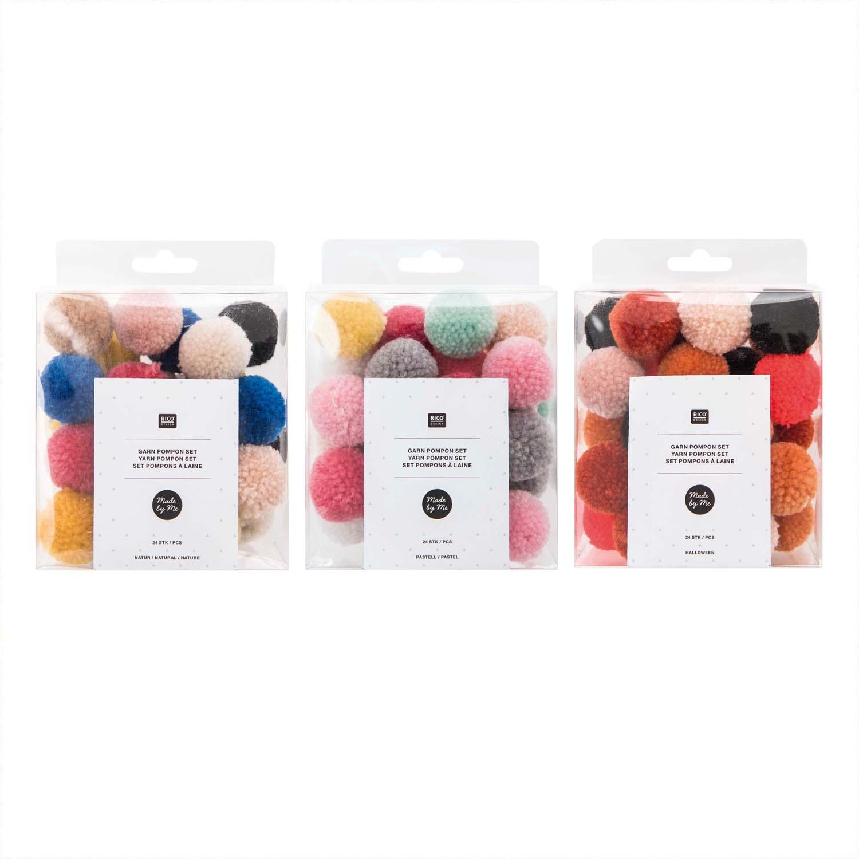 Quasten Pompons Für Textiles Basteln Günstig Online Kaufen