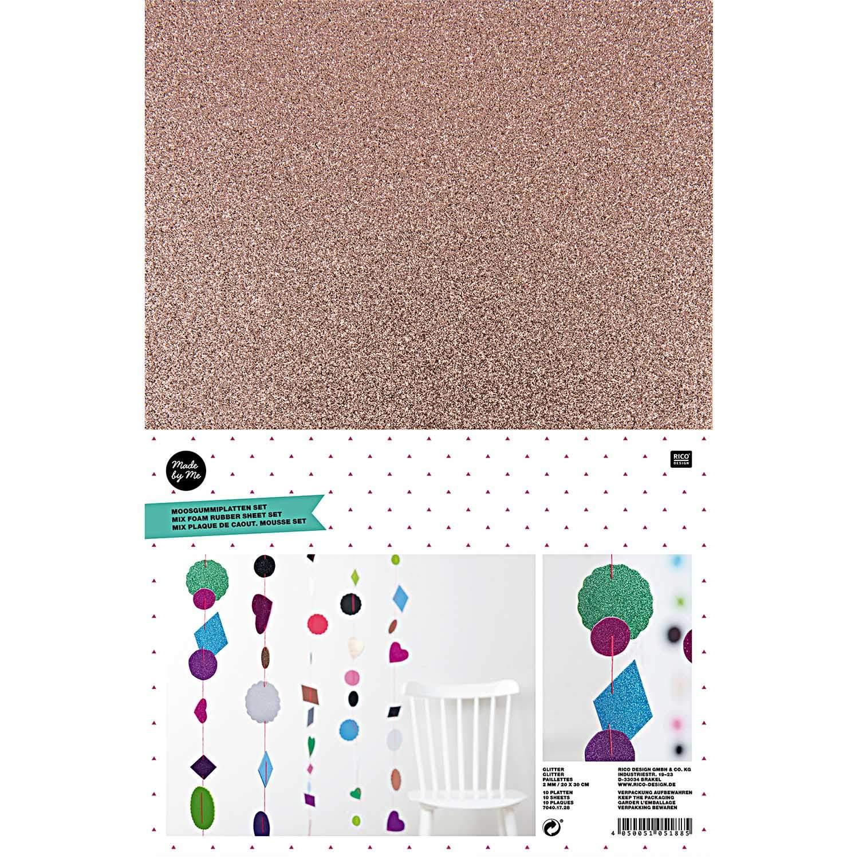 Pailletten  Farb /& Form Mix  ca 5 g 9 mm 25mm Basteln  Neu