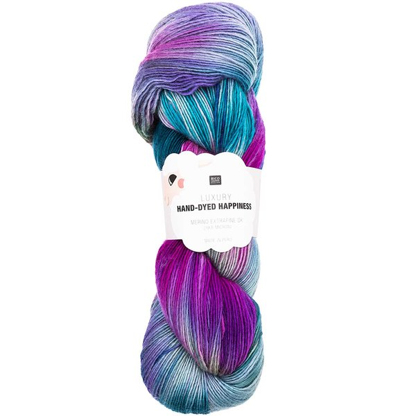 Rico Design Luxury Hand-Dyed Happiness dk 100g 400m