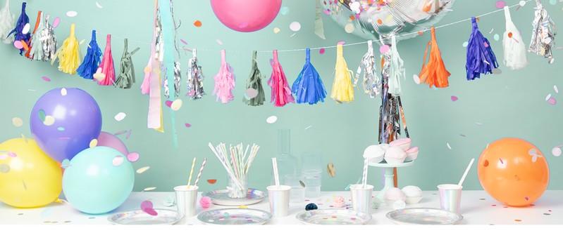 Luftschlangen Karneval Fasching Party Kindergeburtstag Partydekoration Hochzeit